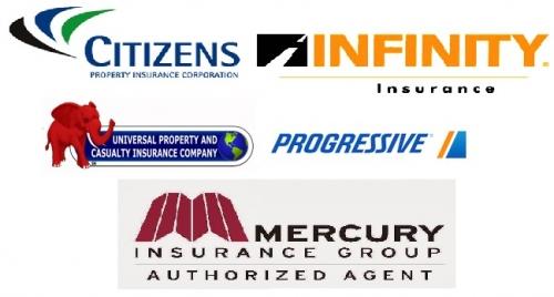 Работаем со всеми ведущми страховыми компаниями